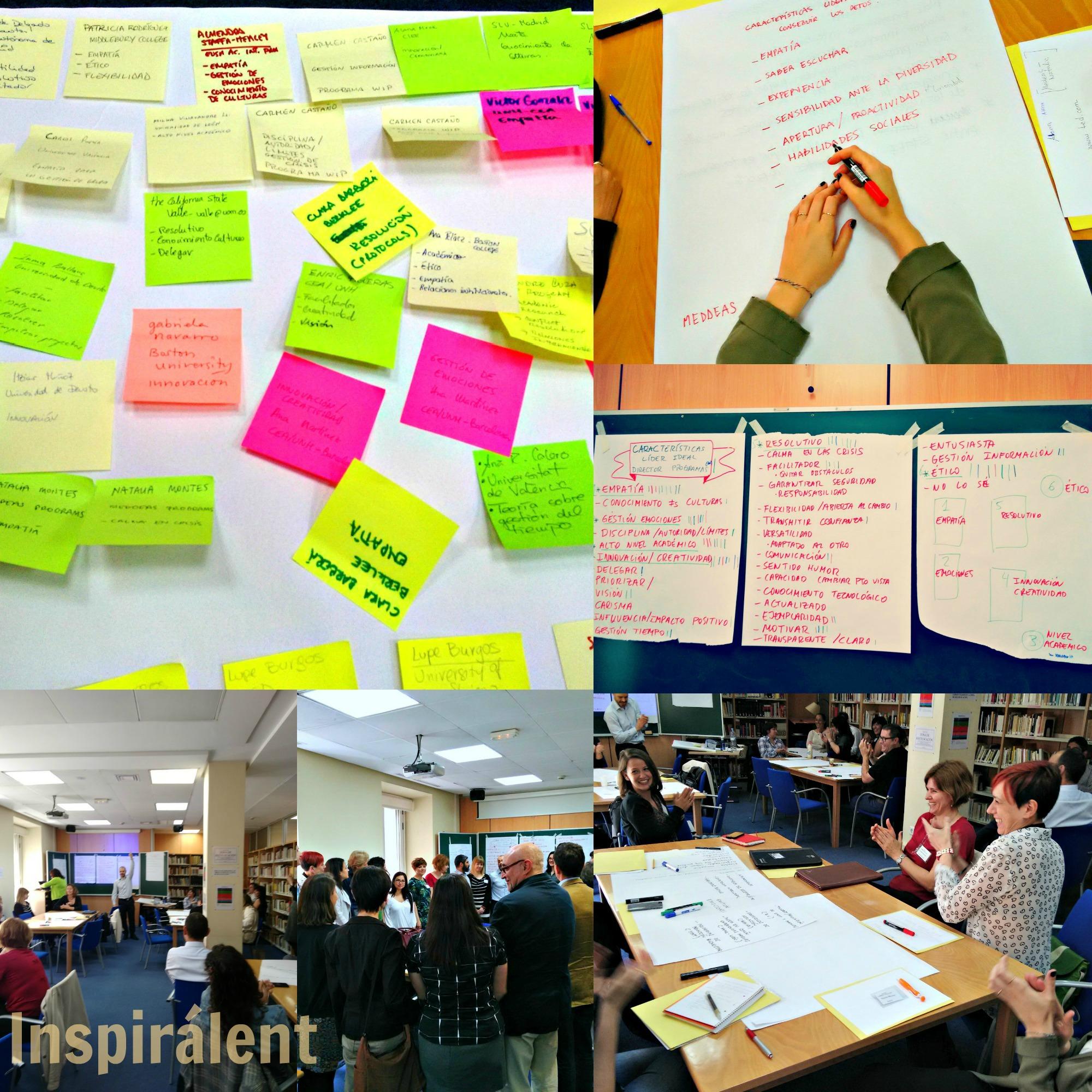 foto resumen jornada liderazgo Apune